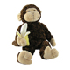 Lifelike plush brown monkey gorilla toy/zoo animals custom monkey cheap custom orangutan gorilla plush toys