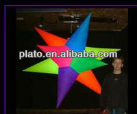 Colorful led inflatable extra star light for wedding party/advertising /promotion