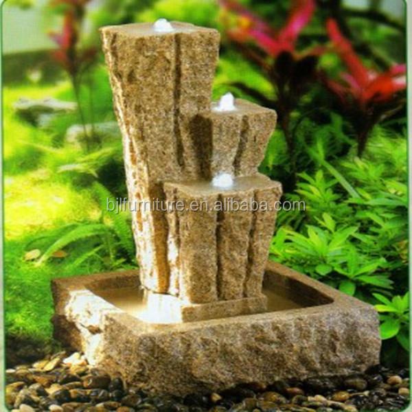artificial decorativa de interior cascada fuente de agua mini