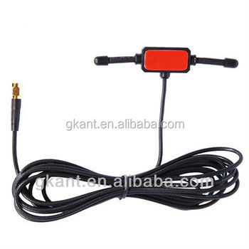 Rubber 2 4g Adhesive Wifi Antenna Booster For Car Wifi Antenna