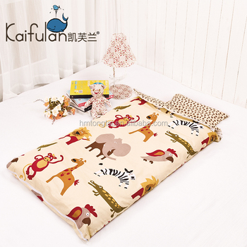 Infant Kids Anti Kicking Sleeping Bag Quilt For Four Seasons 100 Cotton Fabric And