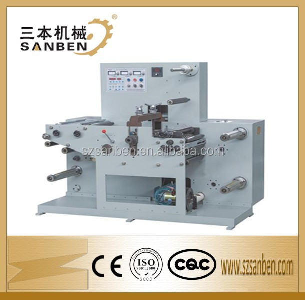 Label die cutting machine, automatic paper label die cutting plotter machine