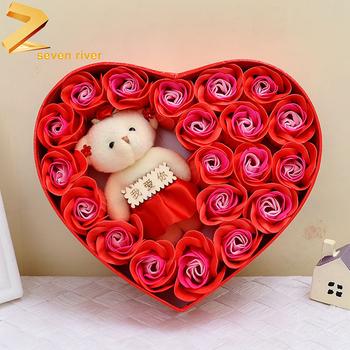 Pabrik Langsung Penjualan Buatan Sabun Bunga Mawar Beruang