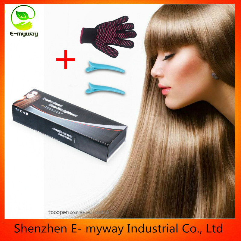 Hot sale Wet and Dry Hair straightener LCD display Professional Hair flat iron
