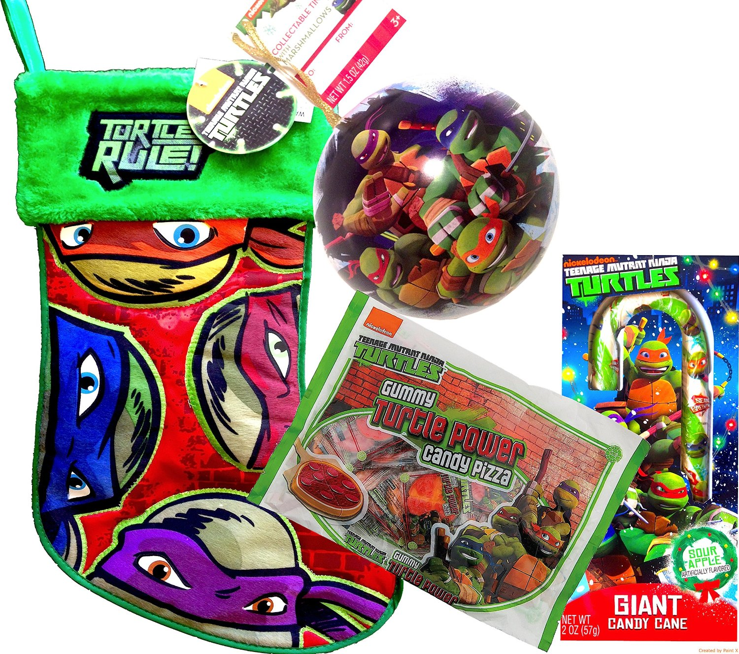 Buy Teenage Mutant Ninja Turtles Christmas Stocking 19\