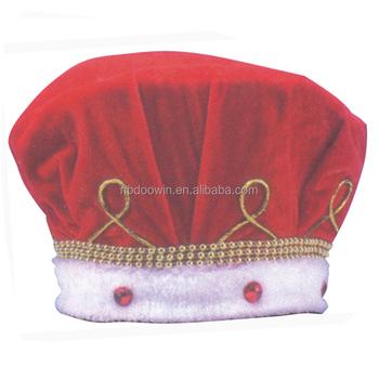Kinder Phantasie Party Kleid Zubehör Rot Königlichen König Hut - Buy ...