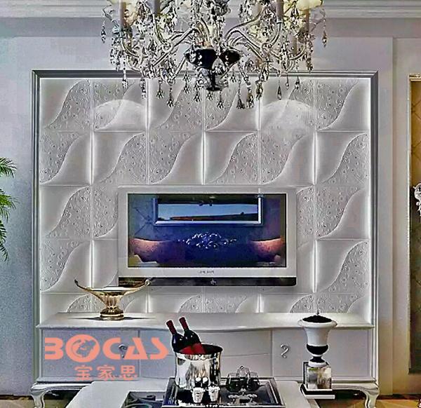 la poussi re en cuir 3d panneau mural pour la maison int rieure d coration tuiles de plafond. Black Bedroom Furniture Sets. Home Design Ideas