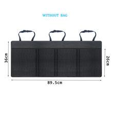 Oxford Car Trunk Organizer Adjustable Backseat Storage Bag Net High Capacity Multi-use Automobile Seat Back Organizers Universal хранение в автомобиле багажник(Китай)