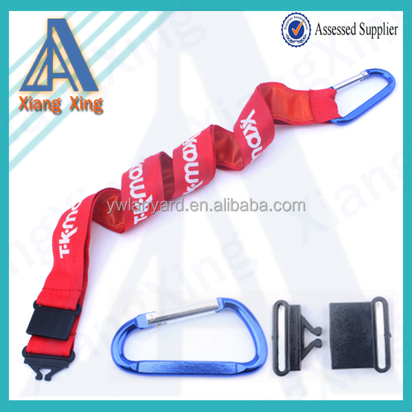 Colorful polyester heat transferred printing id neck lanyard