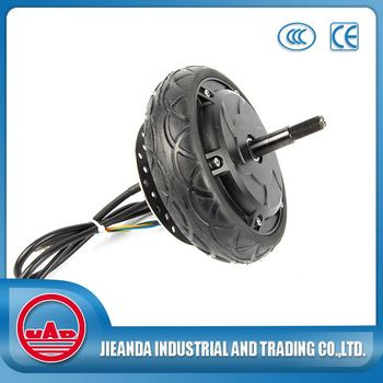 6 inch brushless gearless hub motor for scooter