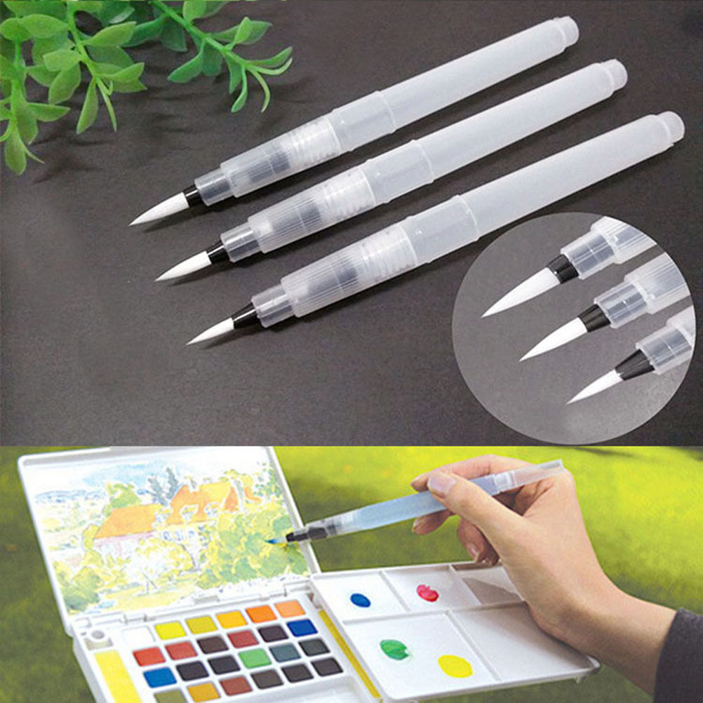 59b6b7825624 2019 Refillable Pilot Water Brush Ink Pen For Water Color ...