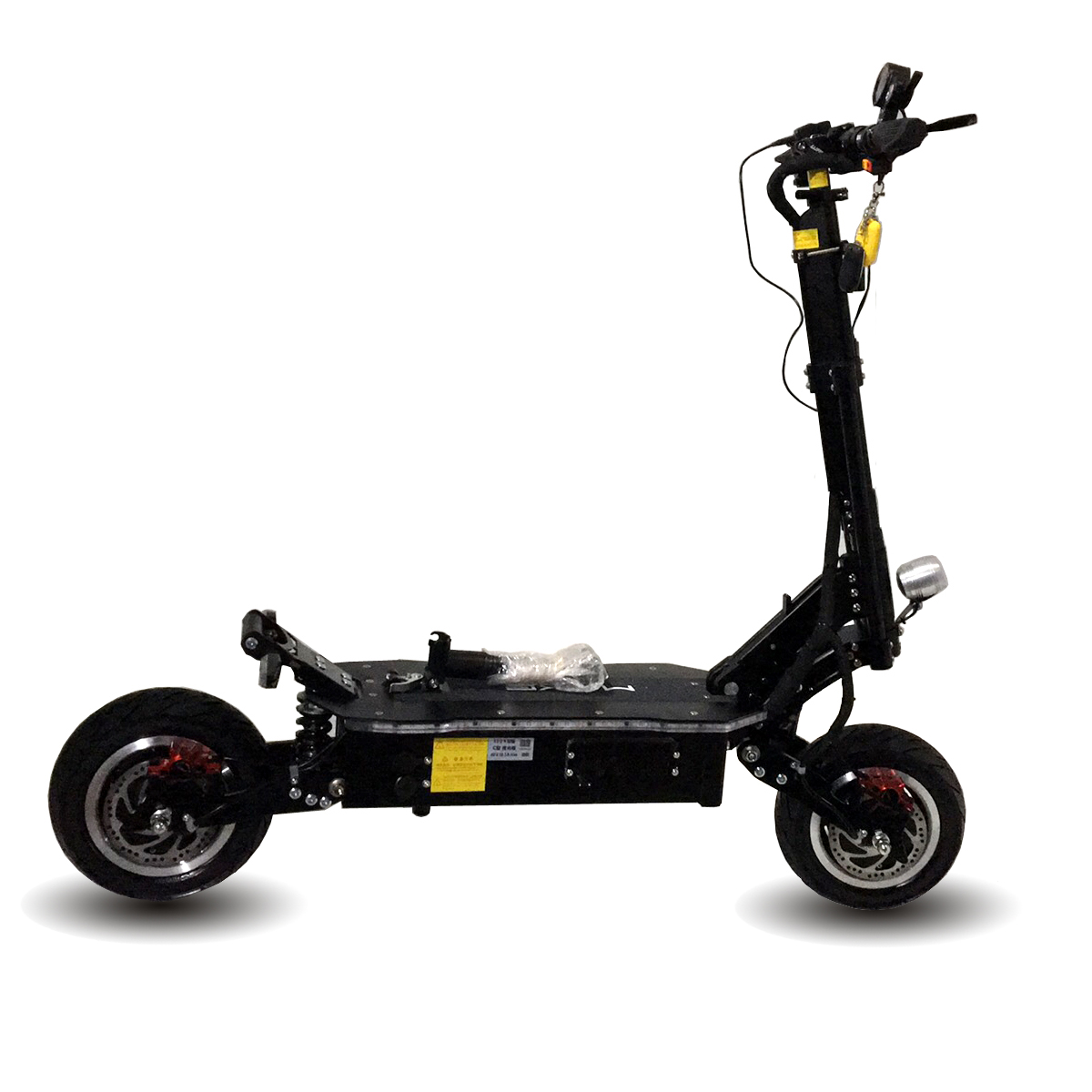 HOT 60v 5000W dual motor powerful 11 inch fat tire off road electric scooter with removable seat
