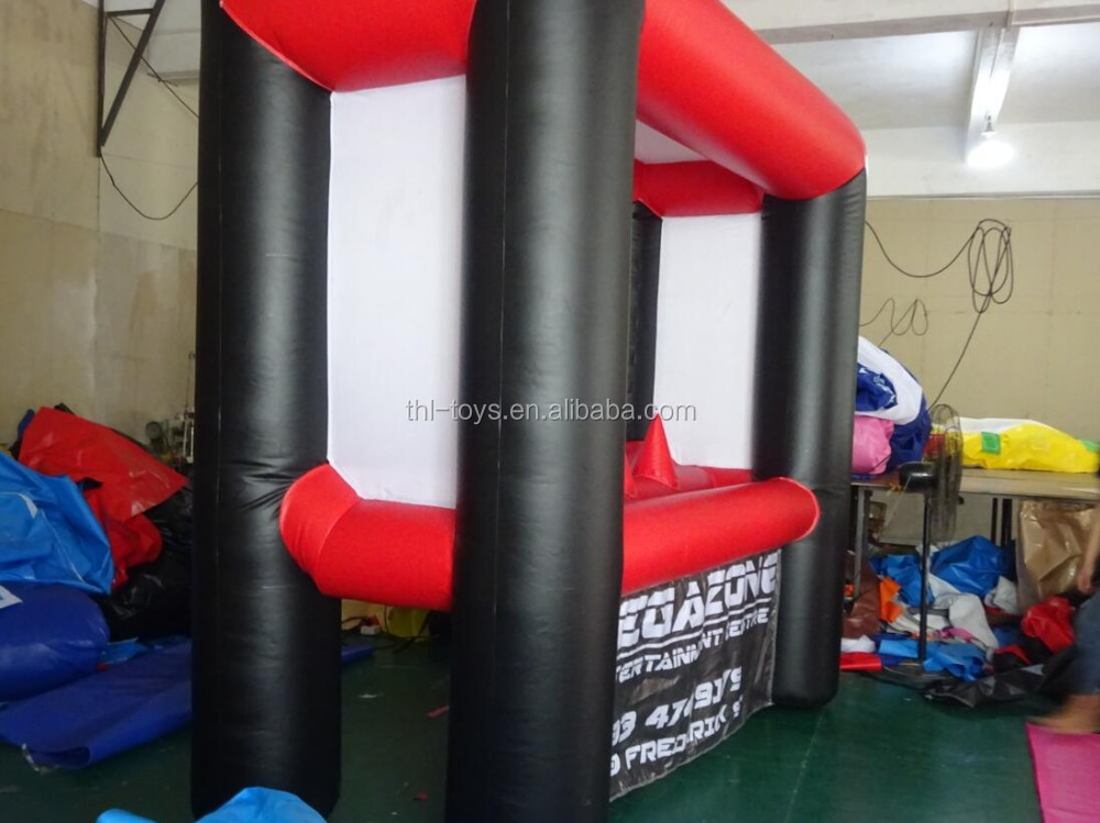 Cheap inflatable shooting game for kids,archery inflatable game for events