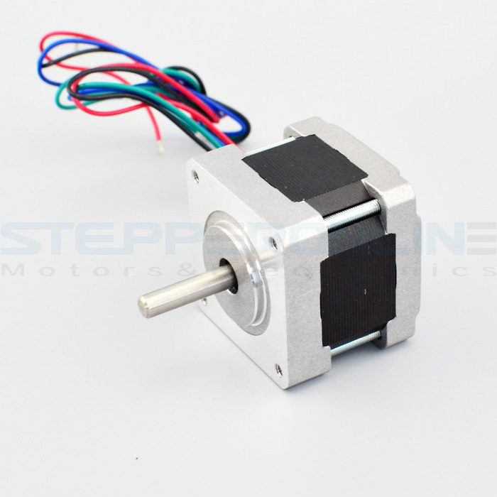 0.9deg Nema 16 Bipolar Stepper 0.4A 18Ncm(25.5oz-in) 16HM13-0404S