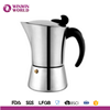 New Arrival Products FDA LFGB Certificate Espresso Italian Coffee Maker