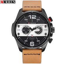Часы CURREN 2017, мужские роскошные Брендовые Часы, высококачественные часы, мужские спортивные кварцевые часы, наручные часы Orologio Uomo Hodinky(Китай)
