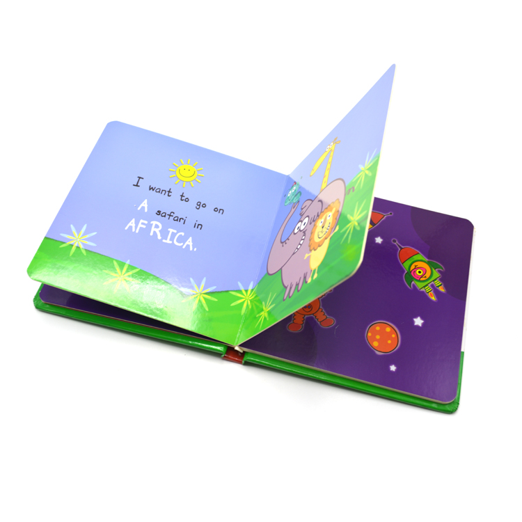A Is for Ant - Childrens Hardcover Boardbook