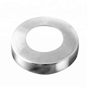 stainless steel round cover plate handrail base plate