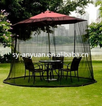 Patio Outdoor Garden Table Parasol Payung Nyamuk Jaring Buy