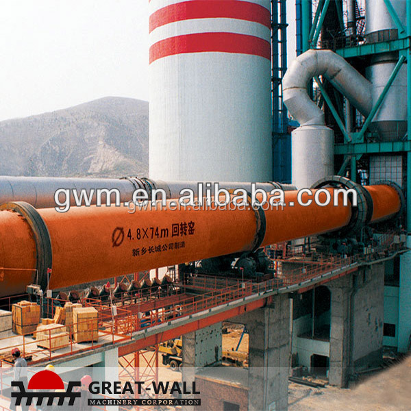 Waste Heat be Reused rotary kiln incinerator for sale with ISO Certification