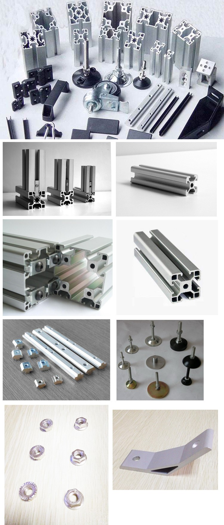Meicheng Selected Materials Quiet Mildew c-beam aluminum profile 4080