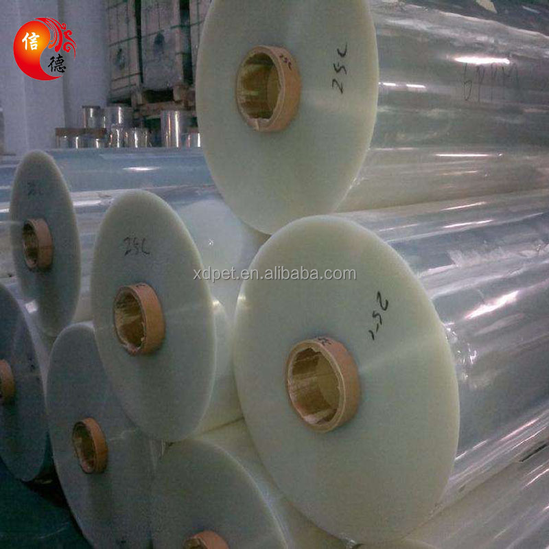 For Paper Boxes With Window In Sheet PET Clear Mylar Film Roll