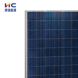 poly solar panel mini circular pet totalizing panel for generators