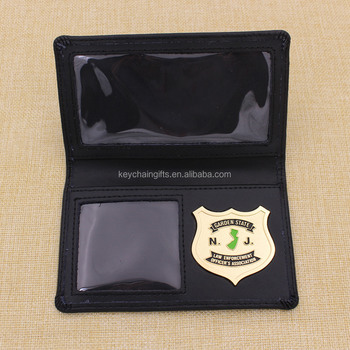 High quality custom metal id badge holder for souvenir