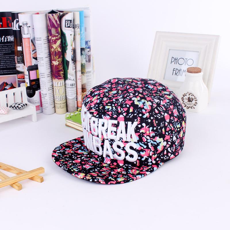 36eb765e05806 Get Quotations · Korean fashion floral hop hip-hop hip-hop hat baseball cap  visor cap Seasons