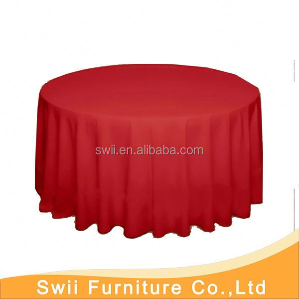 Chinese banquet table cloth adhesive table cloth