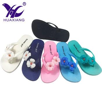 New Fashion Waterproof Plastic Beach Slide Shoes
