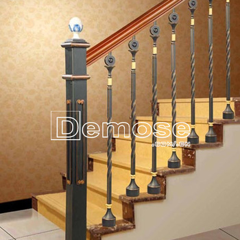 Top Sale Wrought Iron Stair Baluster/ Balustrade Price