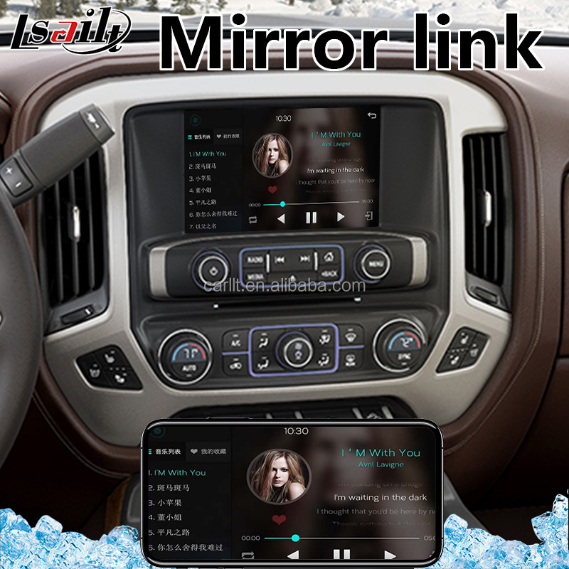Car Android 6.0 / 7.1 Gps Navigation Interface Box for Chevrolet Silverado Mylink