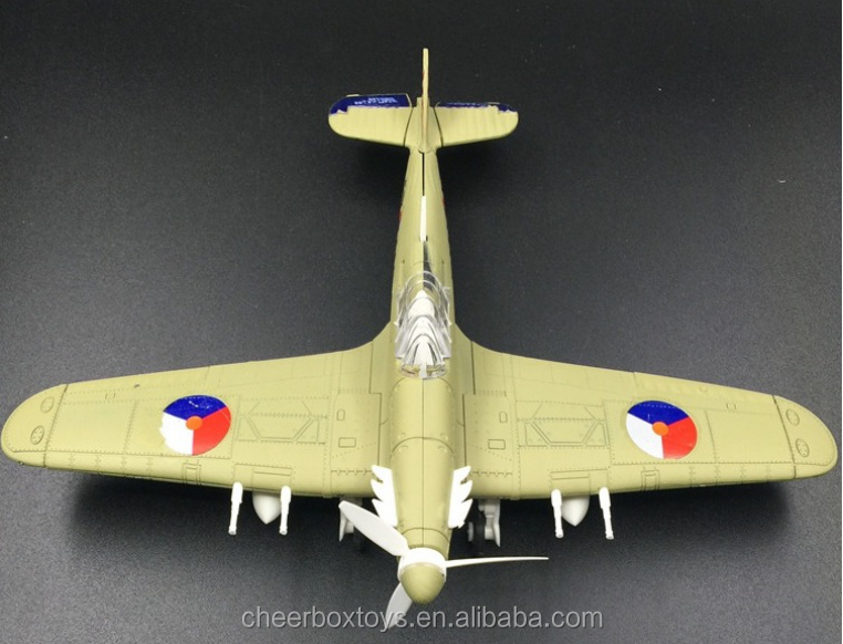 Aircraft Model Hurricane fighter 1:48 assembly toys Military Model