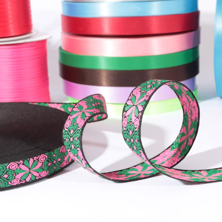 Factory directly sale fantastic ethnic ribbon