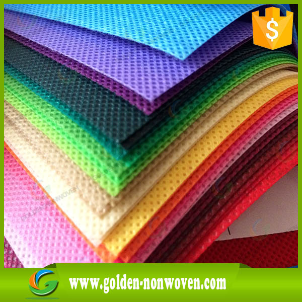 China Quanzhou Diamond 100% biodegradable non woven & nonwoven fabric cloth roll for shoe cover