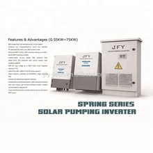Solar inverter for irrigation water pump with build in combiner box from 1.1KW to 75KW