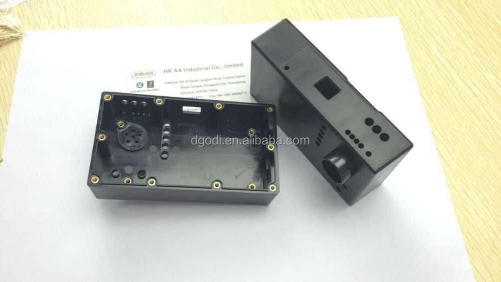 Custom electrical plastic box for electronic device