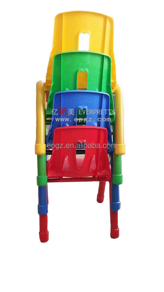 Pr ctico apilable sillas de pl stico para los ni os de for Sillas para ninos de plastico