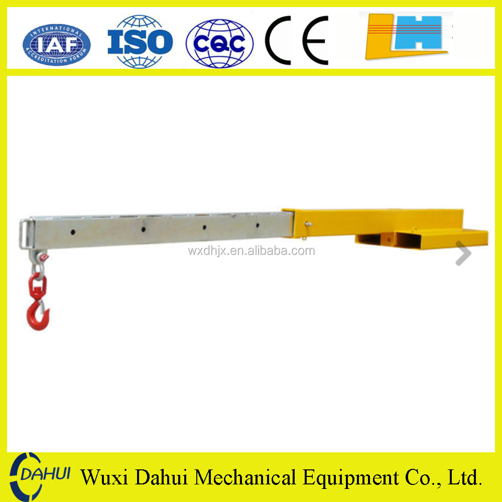 Customized forklift attachments crane JIB FJCL45