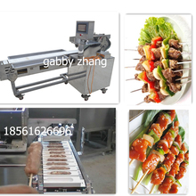 halal meat skewer machine