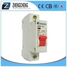1P 16A curve C over-voltage protection MCB mini circuit breaker with OEM service