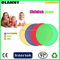customized high quality professional foldable fan nylon frisbee