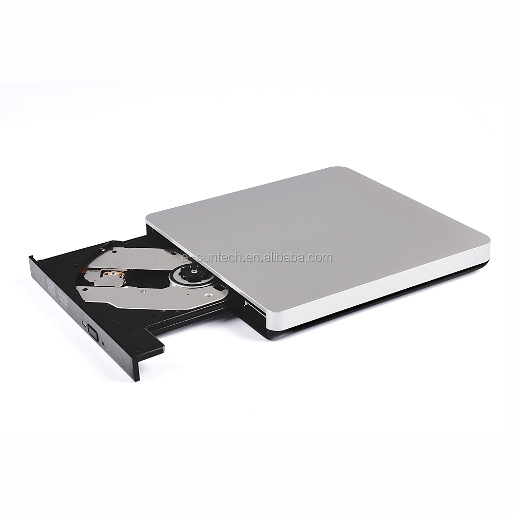 Baru Portable Ultra Slim USB 3.0 CD DVD ROM Pemain Burner Reader Eksternal DVD