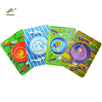 plastic 3d lenticular kids placemat buy kids christmas placemats