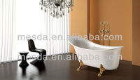 Royal Luxury Small Deep Acrylic Bathtub in Floor WS--065