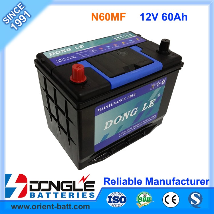 Factory Best Price 12v 60ah Japan Quality Auto Battery Mf65d26r Buy Auto Battery Mf65d26r 12v 60ah Auto Battery Japan Quality Auto Battery Mf65d26r