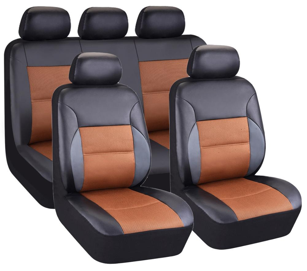Factory Price Leather Fancy 3 Piece Car Seat Cover