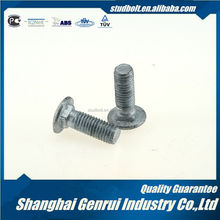 6.8 m12 zinc plated carriage bolt Use through iron strengthening plates on either side of a wooden beam