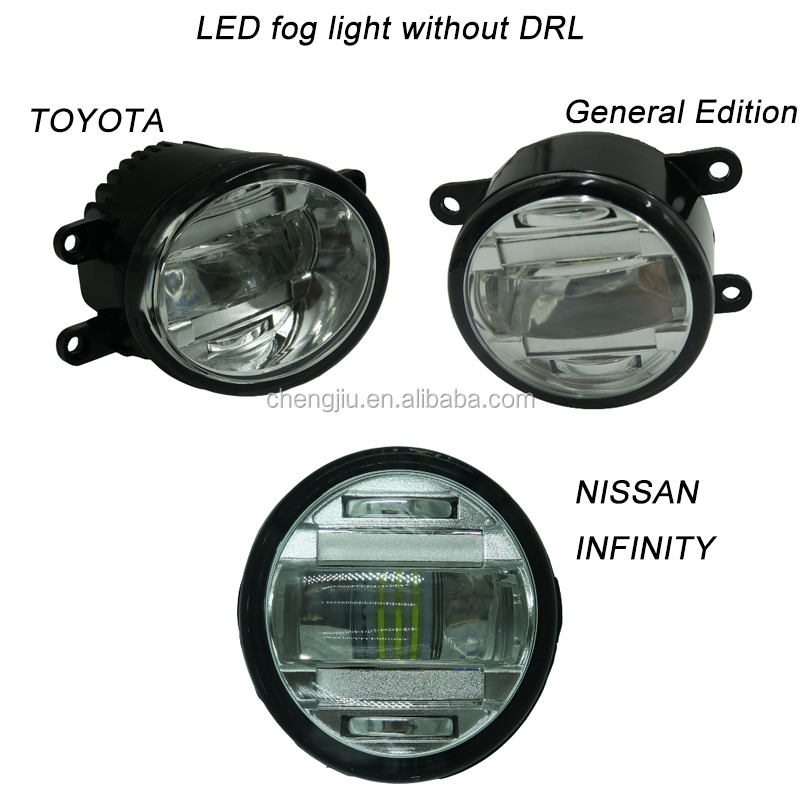 New SUV Pickup truck accessories Nissans Frontier Navara D22 Front bumper fog lights car led driving light drl 4x4